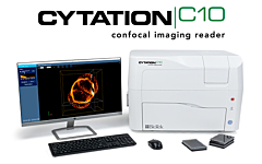 Cytation C10 with Monitor and Keyboard
