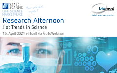 Research Afternoon - Hot Trends in Science
