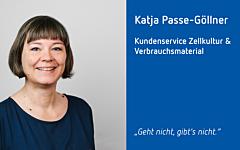 neue Mitarbeiterin Katja Passe-Göllner