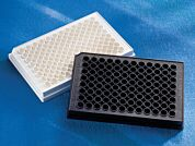 Microplate, 96 Well, Polystyrene, White, Flat Bottom, Not Treated, no Lid, Nonsterile, Bulk