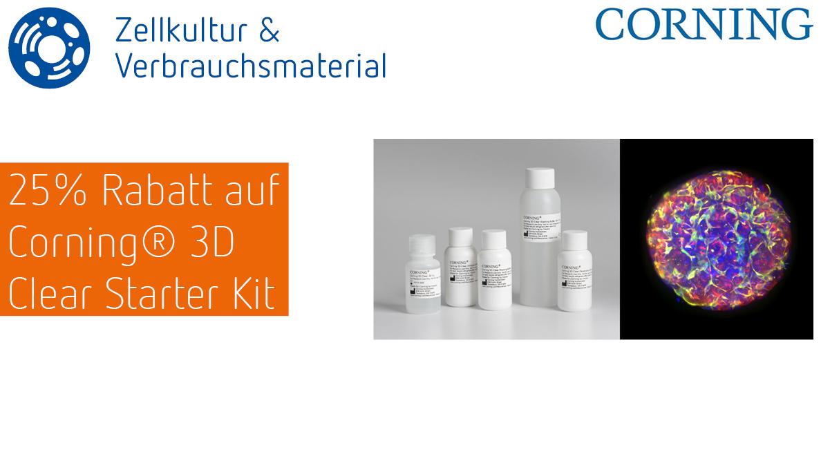 Corning 3D Clear Starter Kit