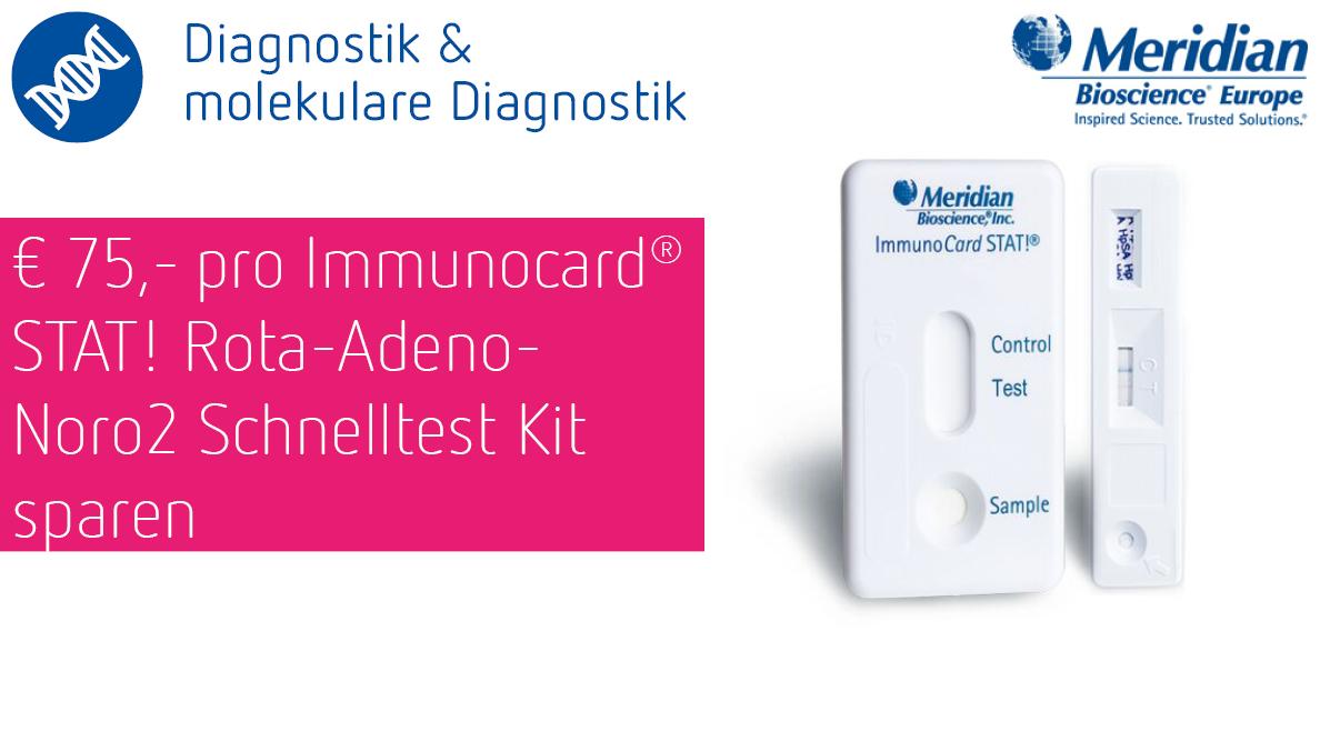 ImmunocardSTAT Rota-Adeno-Noro2 Schnelltest