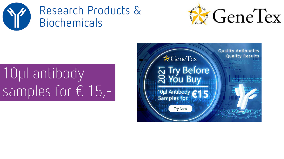 Genetex - Try before you buy