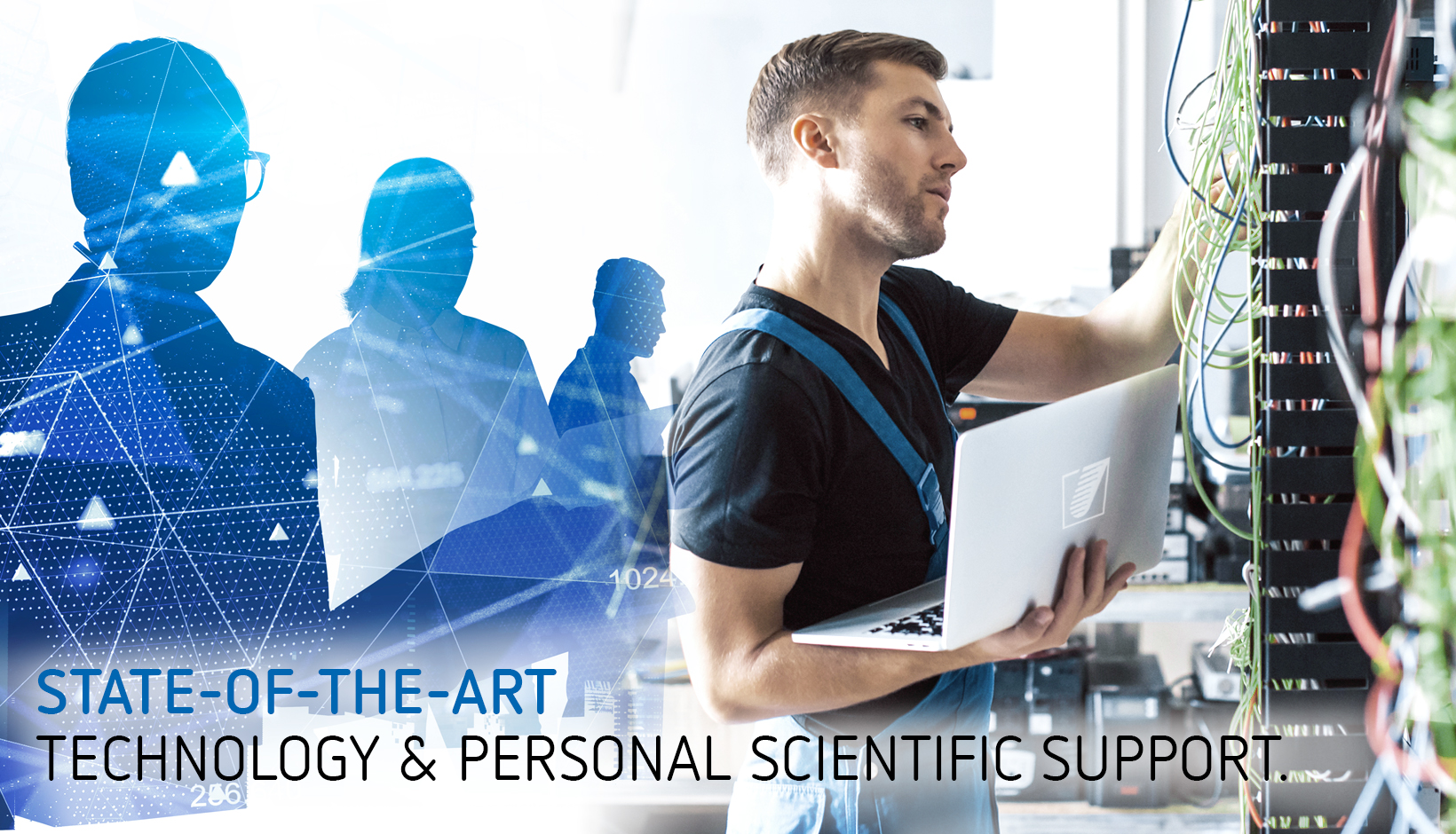 State of the art - technology and personal scientific support
