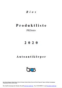 Bios Autoantikörper Produktkatalog