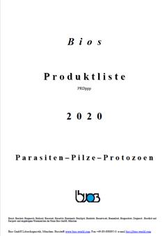 Bios Parasiten Produktkatalog