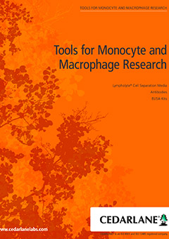 Cedarlane Tools for Monocyte and Macrophage Research